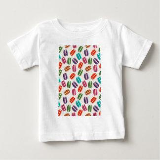 Sweet Macaron Cookies and Polka Dot Pattern Baby T-Shirt