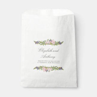 Sweet Magnolia Elegant Wedding Favor Bags