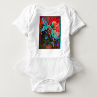 SWEET MAGNOLIA EVENING BABY BODYSUIT