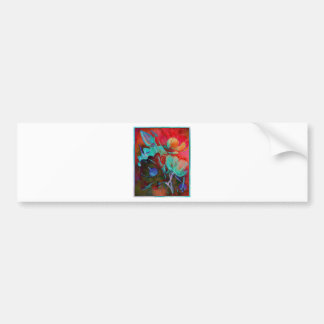 SWEET MAGNOLIA EVENING BUMPER STICKER