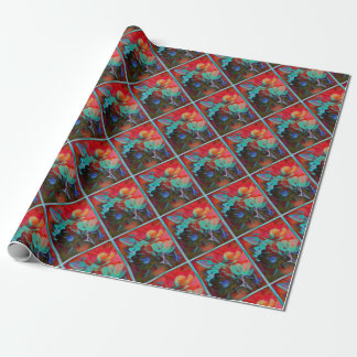 SWEET MAGNOLIA EVENING WRAPPING PAPER