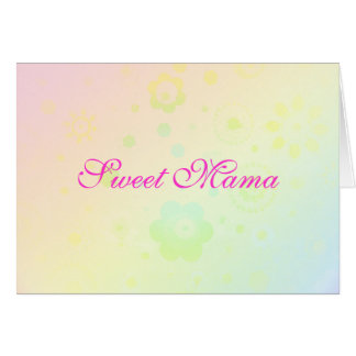 """Sweet Mama"" Mother's Day Card - Template - Custom"