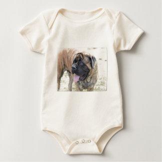 Sweet Mastiff Baby Bodysuit