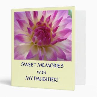 SWEET MEMORIES Spent with MY DAUGHTER Binder