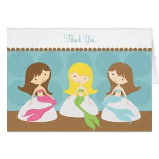Sweet Mermaids Note Cards