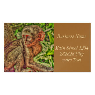 sweet monkey pack of standard business cards