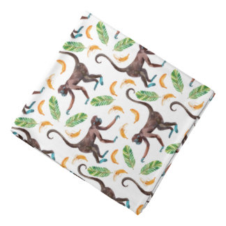 Sweet Monkeys Juggling Bananas Bandana
