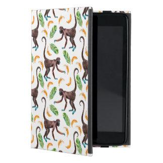 Sweet Monkeys Juggling Bananas Cover For iPad Mini