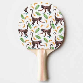 Sweet Monkeys Juggling Bananas Ping-Pong Paddle