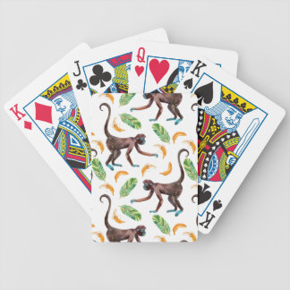 Sweet Monkeys Juggling Bananas Poker Deck