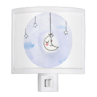 sweet moon nursery night light