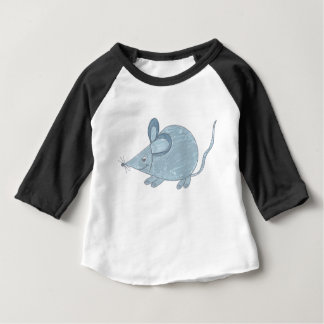 Sweet mouse Raglanshirt with 3/4 arm Baby T-Shirt