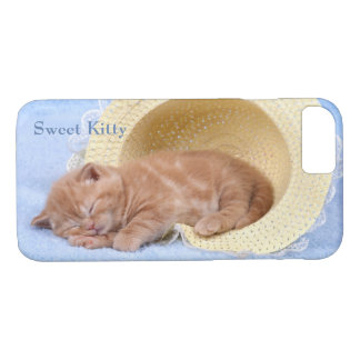 Sweet Napping Kitty Perfect Peaceful Cat Case-Mate iPhone Case