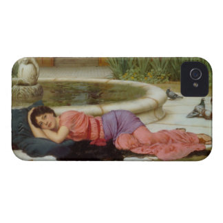 Sweet Nothings (Dolce Far Niente) John Godward iPhone 4 Cover