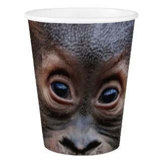 Sweet Orang Baby Paper Cup