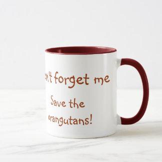 Sweet Orangutan Wildlife Baby Mug