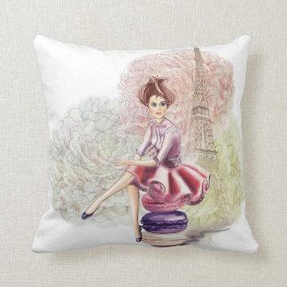 Sweet Paris Throw Pillow