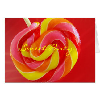 Sweet Party Greeting Card
