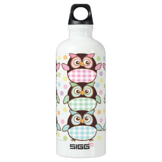 Sweet Patterned Owls Eco-Friendly