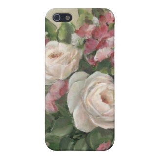 Sweet Pea and Rose Bouquet Cover For iPhone 5/5S
