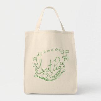 Sweet Pea Grocery Bag