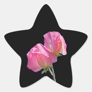 Sweet Pea Star Sticker
