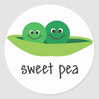 Sweet Pea Stickers