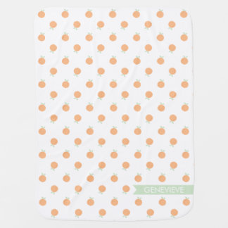 Sweet Peach Blanket | Peach and Mint