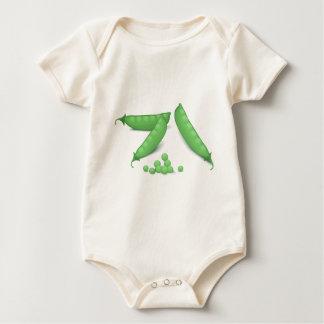 Sweet Peas Baby Bodysuit