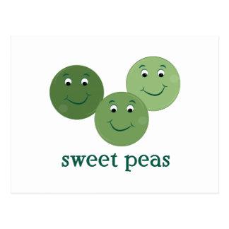 Sweet Peas Postcards