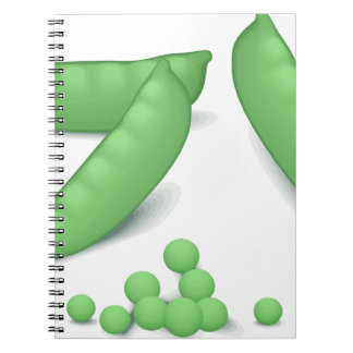 Sweet Peas Spiral Notebook
