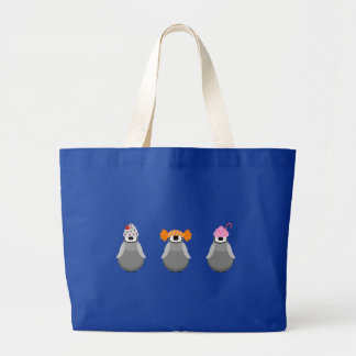 Sweet Penguins Jumbo Tote Bag