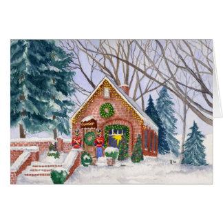 Sweet Pierre's Chocolate Shop Christmas Card