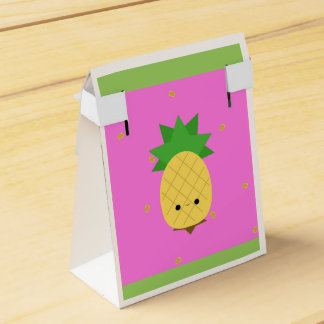 Sweet Pineapple Tent Favor Box