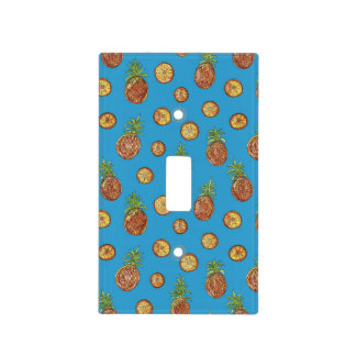 Sweet pineapples light switch cover