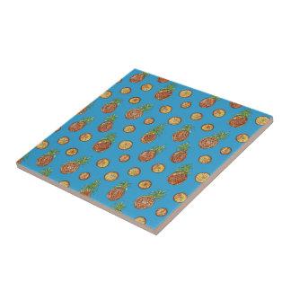 Sweet pineapples tile
