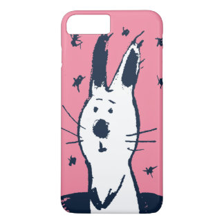 Sweet Pink and White Rabbit iPhone 7 Plus Case