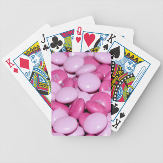 Sweet Pink Bicycle Playing Cards