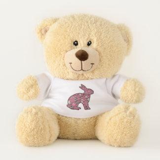 Sweet Pink Bunny Teddy Bear