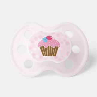 Sweet Pink Cupcake Pacifier