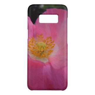 Sweet Pink Poppy Heart Case-Mate Samsung Galaxy S8 Case