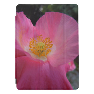 Sweet Pink Poppy Heart iPad Pro Cover