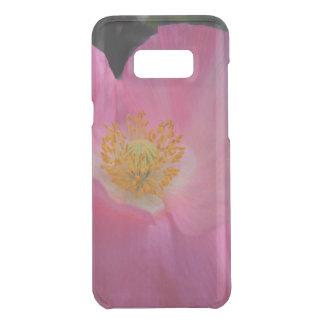 Sweet Pink Poppy Heart Uncommon Samsung Galaxy S8 Plus Case