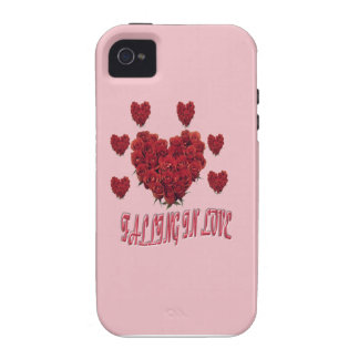 Sweet pink Valentine's Day of love iPhone 4/4S Covers