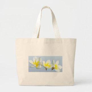 Sweet Plumeria Large Tote Bag