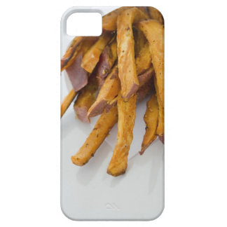 Sweet Potato fries in paper bag, close up, iPhone 5 Covers