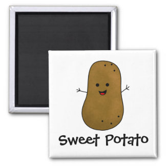 Sweet Potato Magnet
