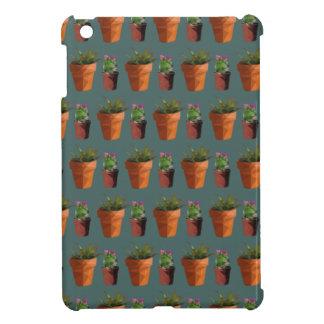 Sweet Potted Geometric Succelents Print iPad Mini Cases