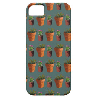 Sweet Potted Geometric Succelents Print iPhone 5 Case