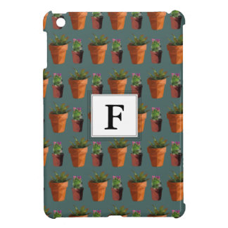 Sweet Potted Succulent Print Customisable Case For The iPad Mini